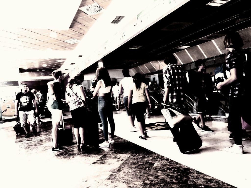 En el aeropuerto con destino a Ibiza para la localización persona desaparecida